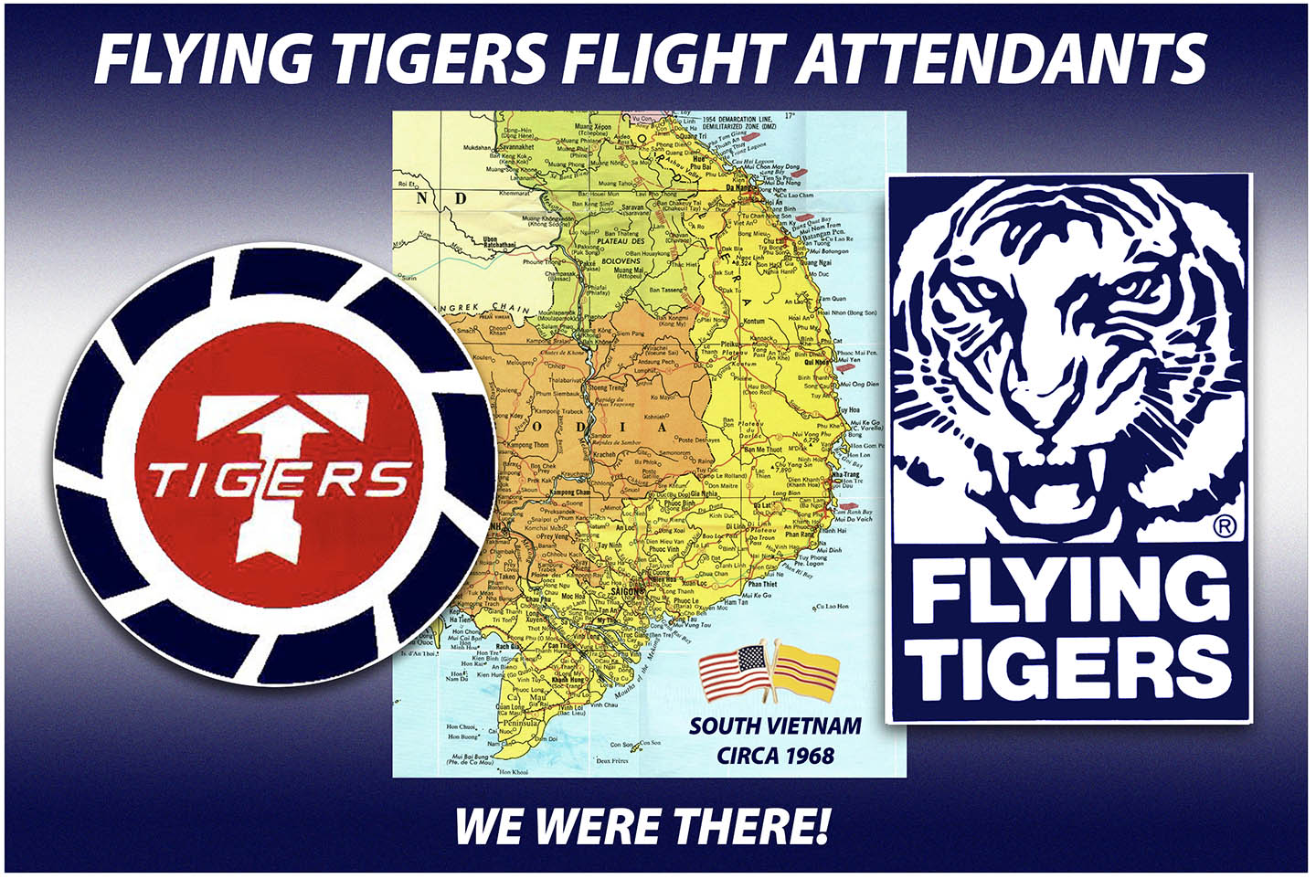 Flying tiger flight attendant - we were there